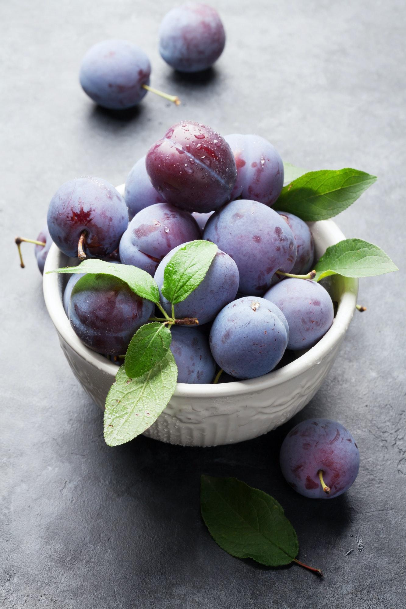 Garden plums